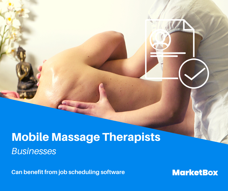Service Scheduling Software - Mobile Massage Therapists