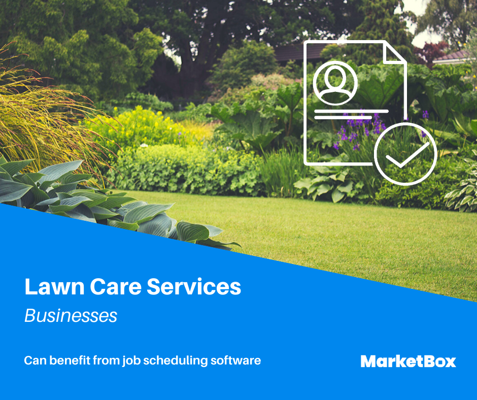Service Scheduling Software - Lawn Care Services