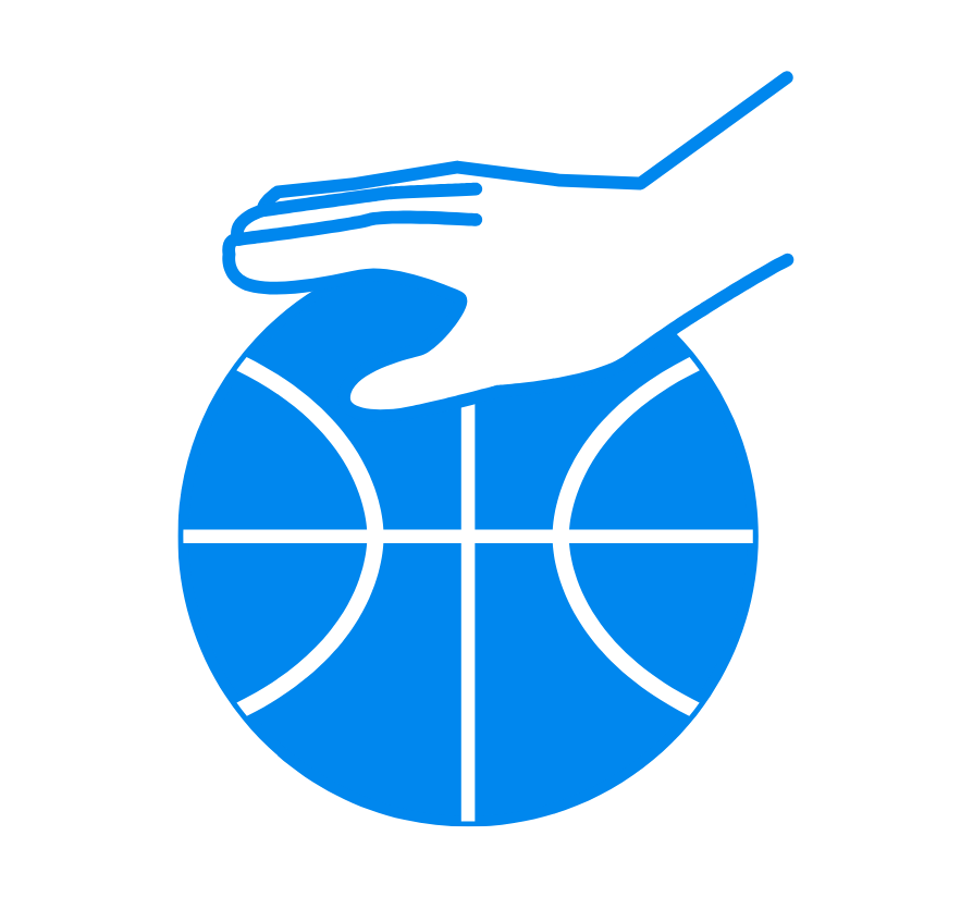 dribbling basketball graphic