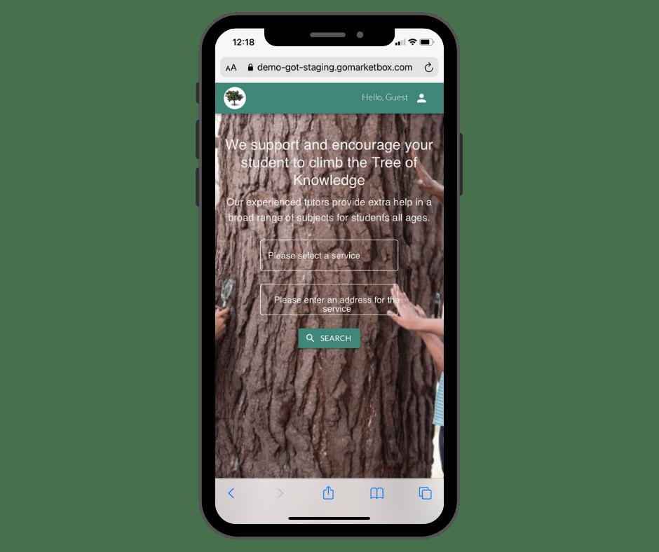 Tutor mobile app