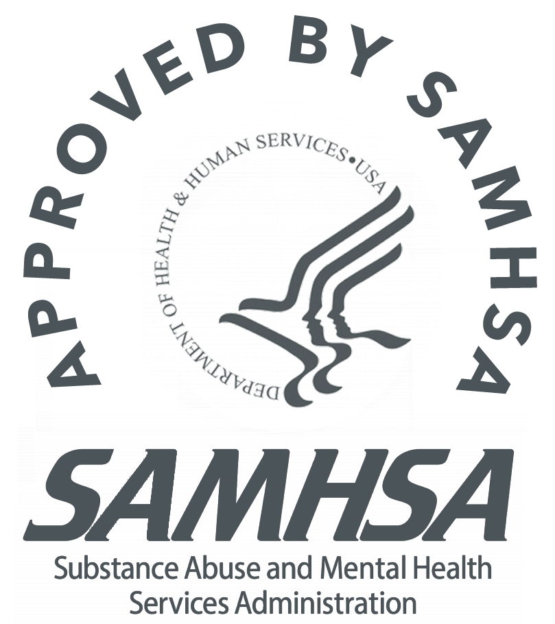 Approved by SAMHSA logo