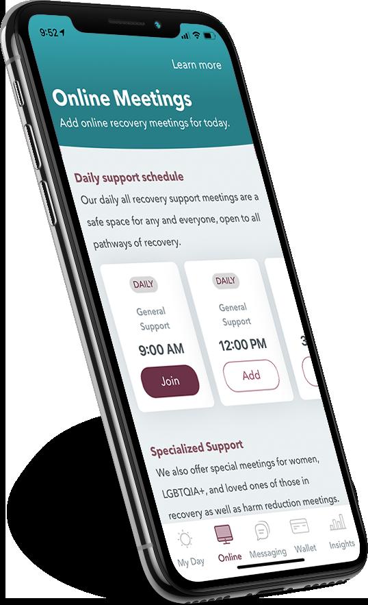 WEconnect app dashboard