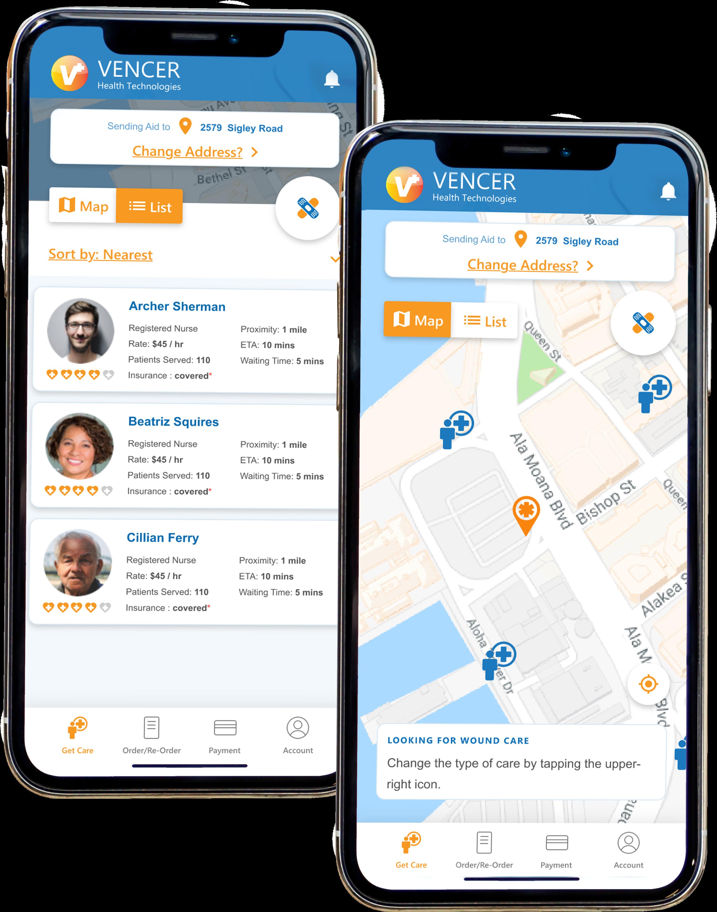 Vencer Health Mobile App Demonstration