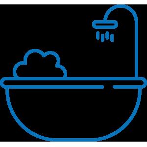 icon bathing