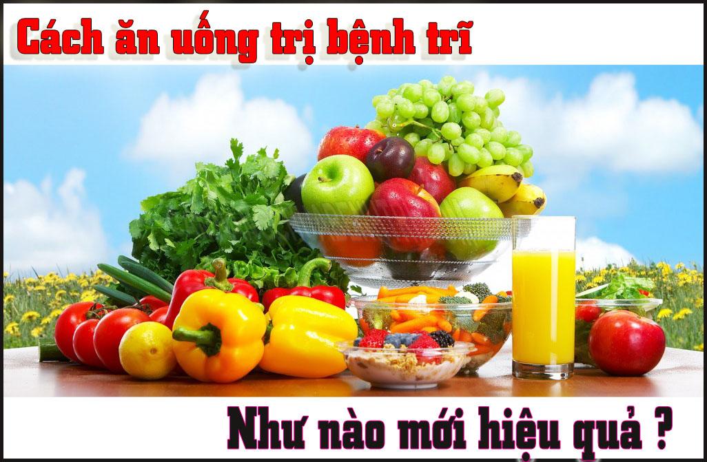 Dinh dưỡng cho người bệnh trĩ