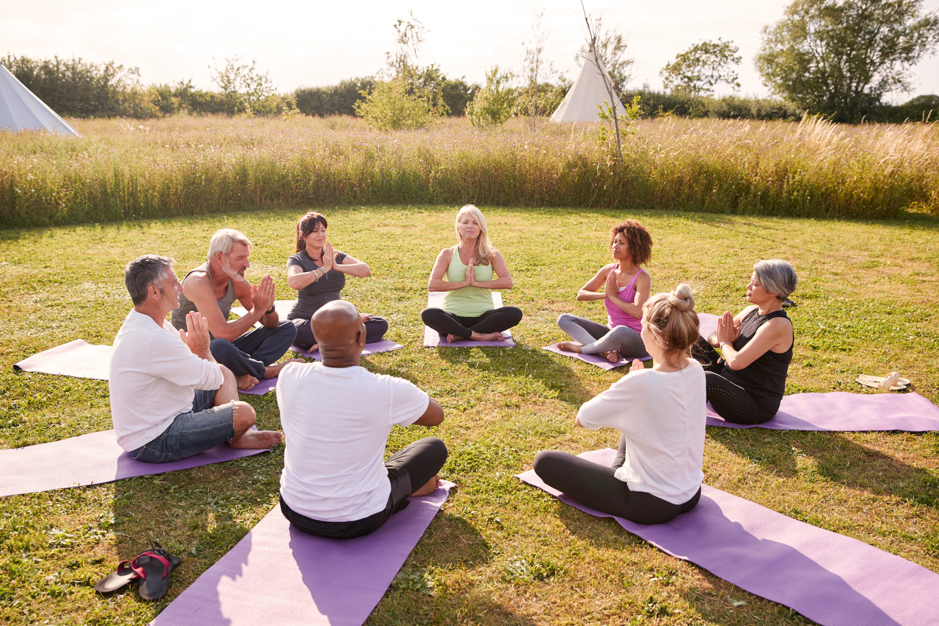 Yoga Meditation at retreat Portugal for all your wellbeing, connect with your inner self and nature