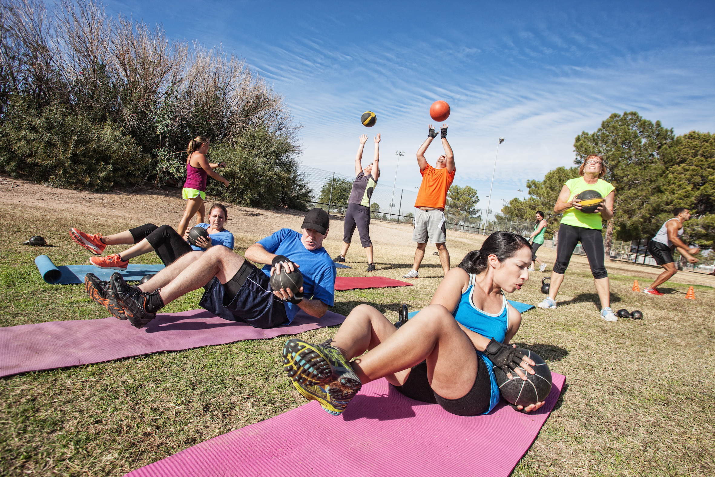 Fitness for all levels at iRetreat Portugal