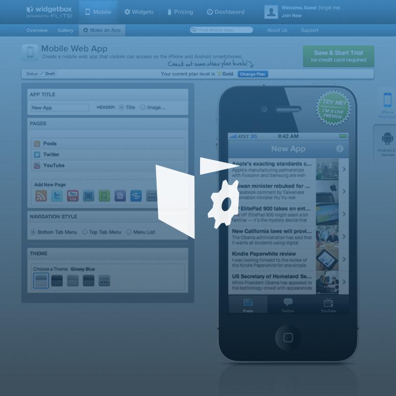 Widgetbox Mobile