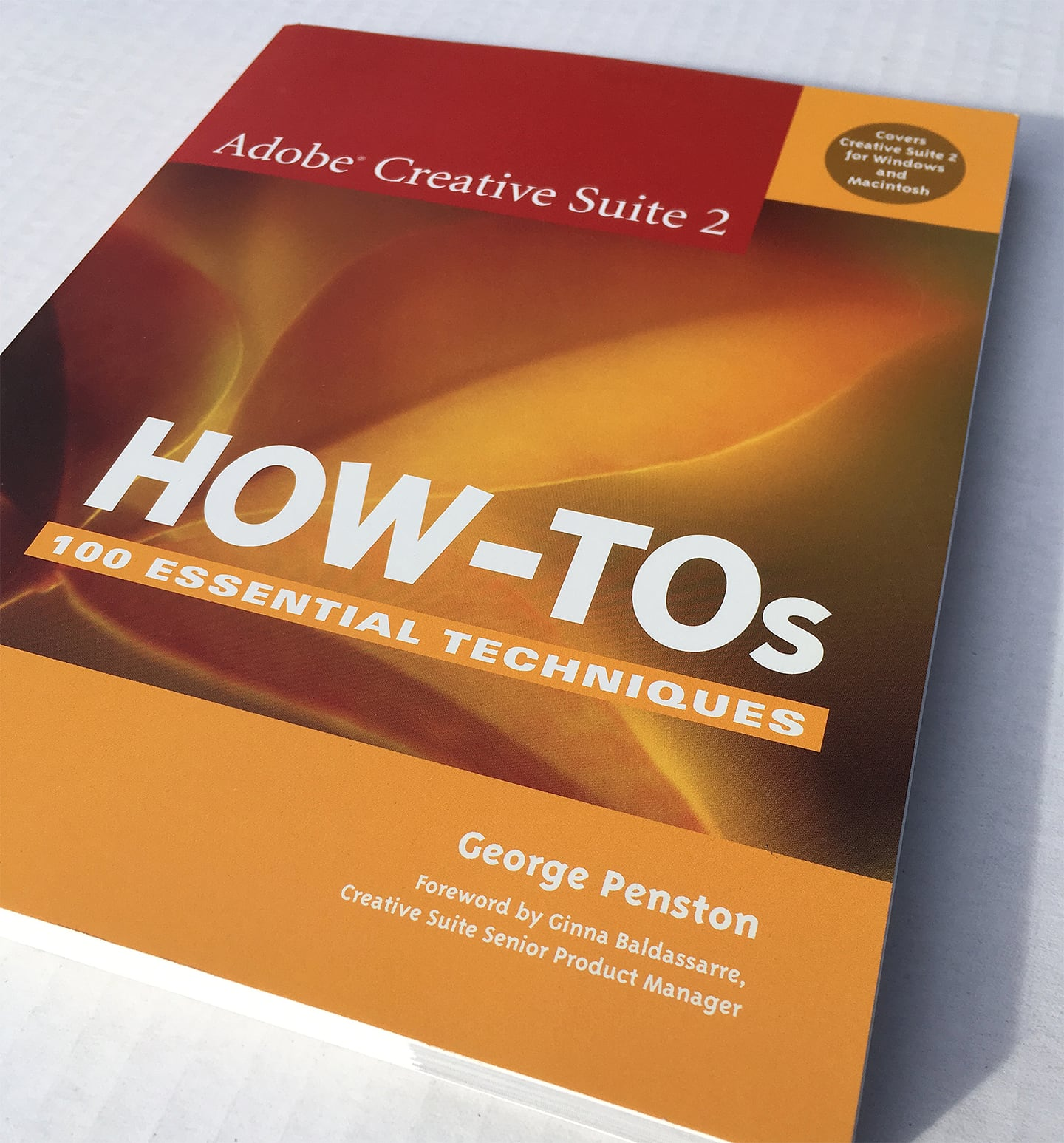 Front of Adobe Creative Suite 2 How-To's book