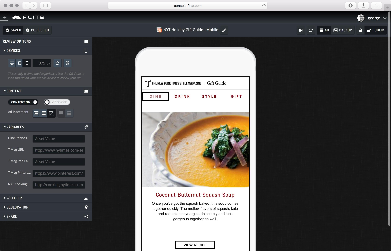 Design Studio Review screen.