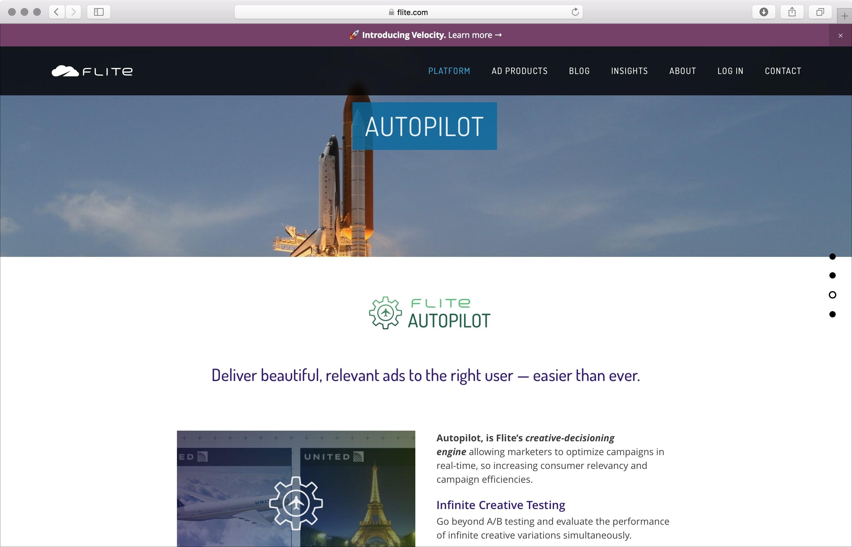 Flite Autopilot page
