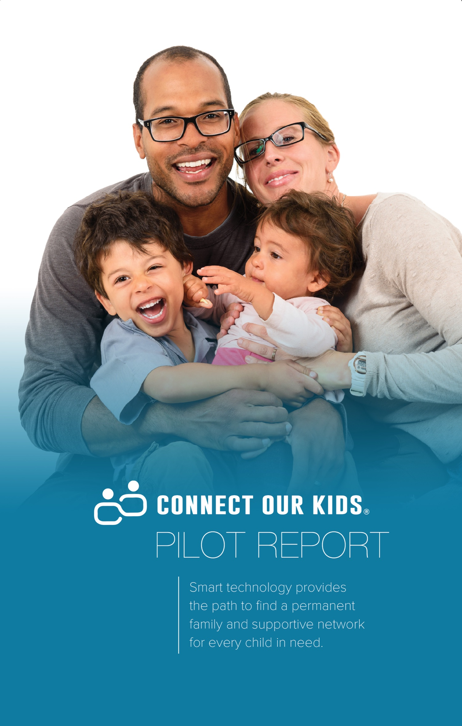 Connect Our Kids Pilot Report cover image.