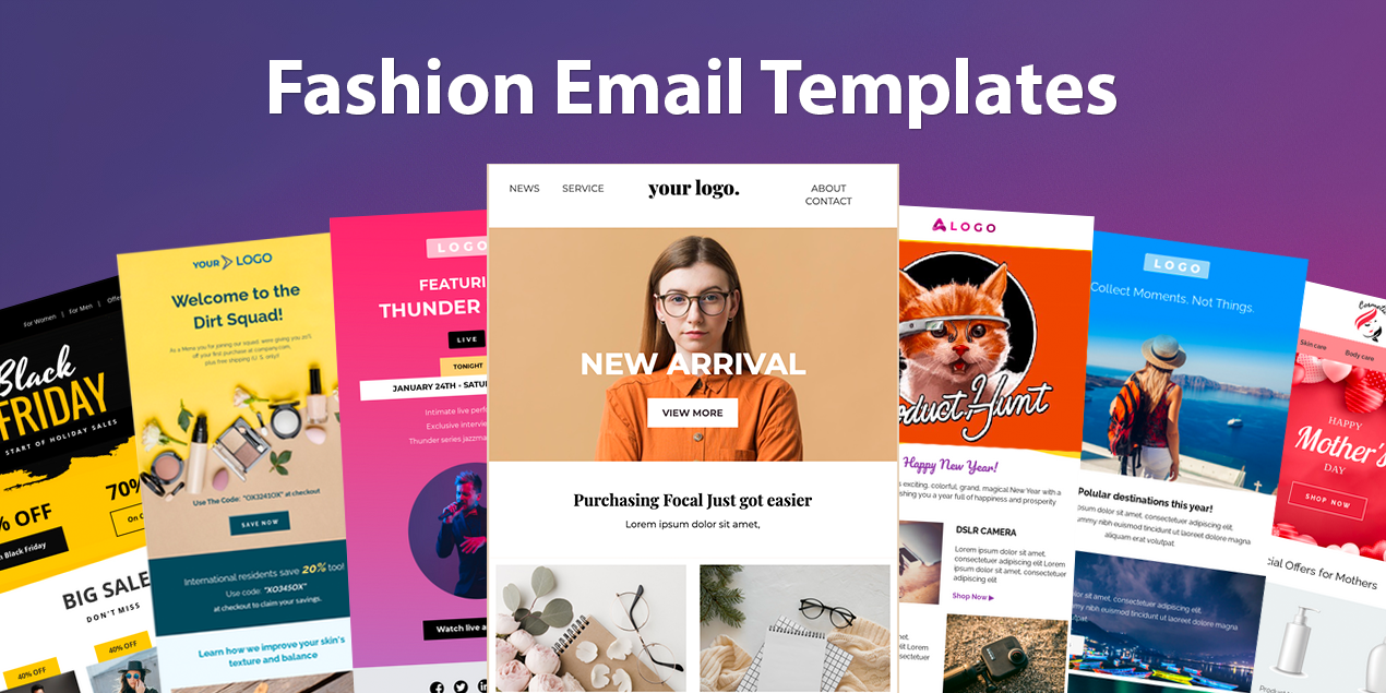 Free Email Templates for Fashion