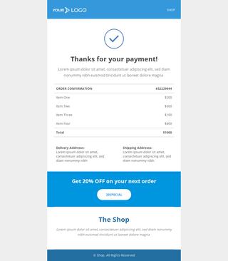 Receipt Email