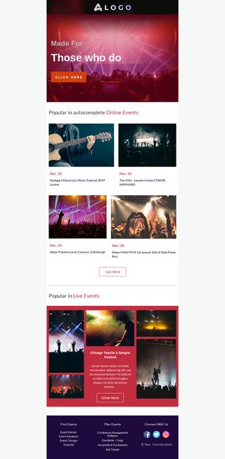 Online Music Event