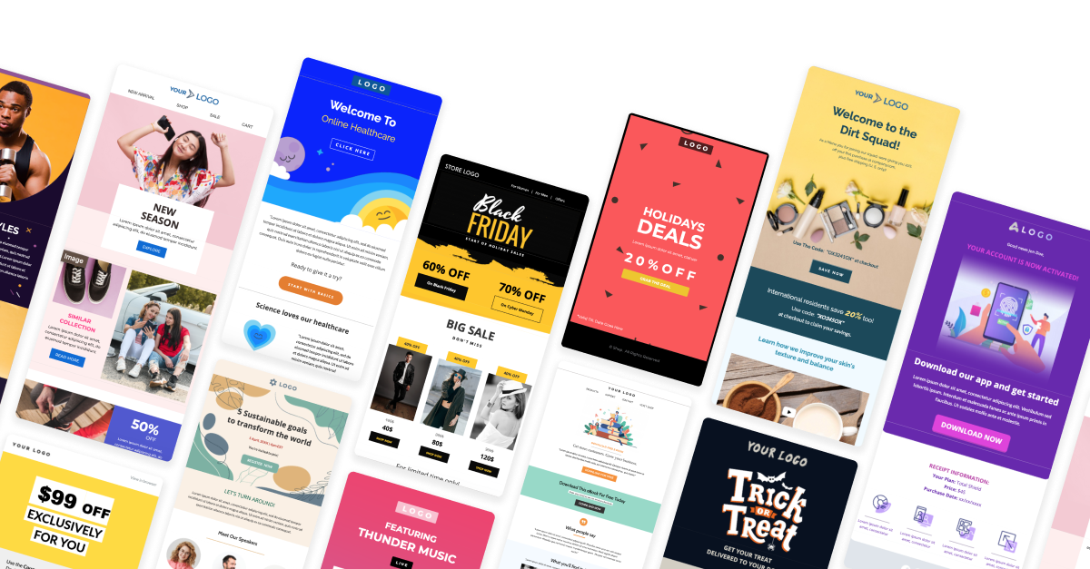 Free Email Templates for New Year