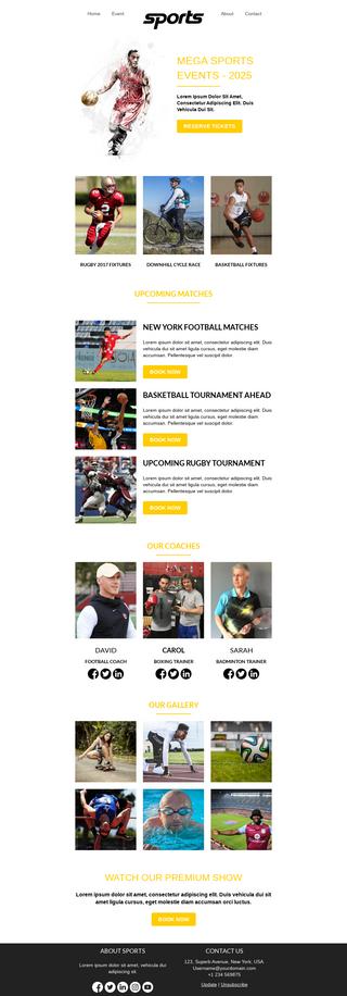 Mega Sports Event