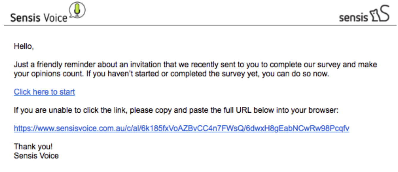 Un-designed email