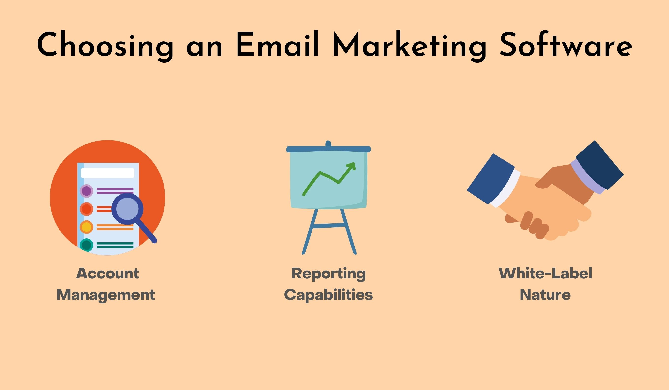 Factors to choose an email marketing software for your agency