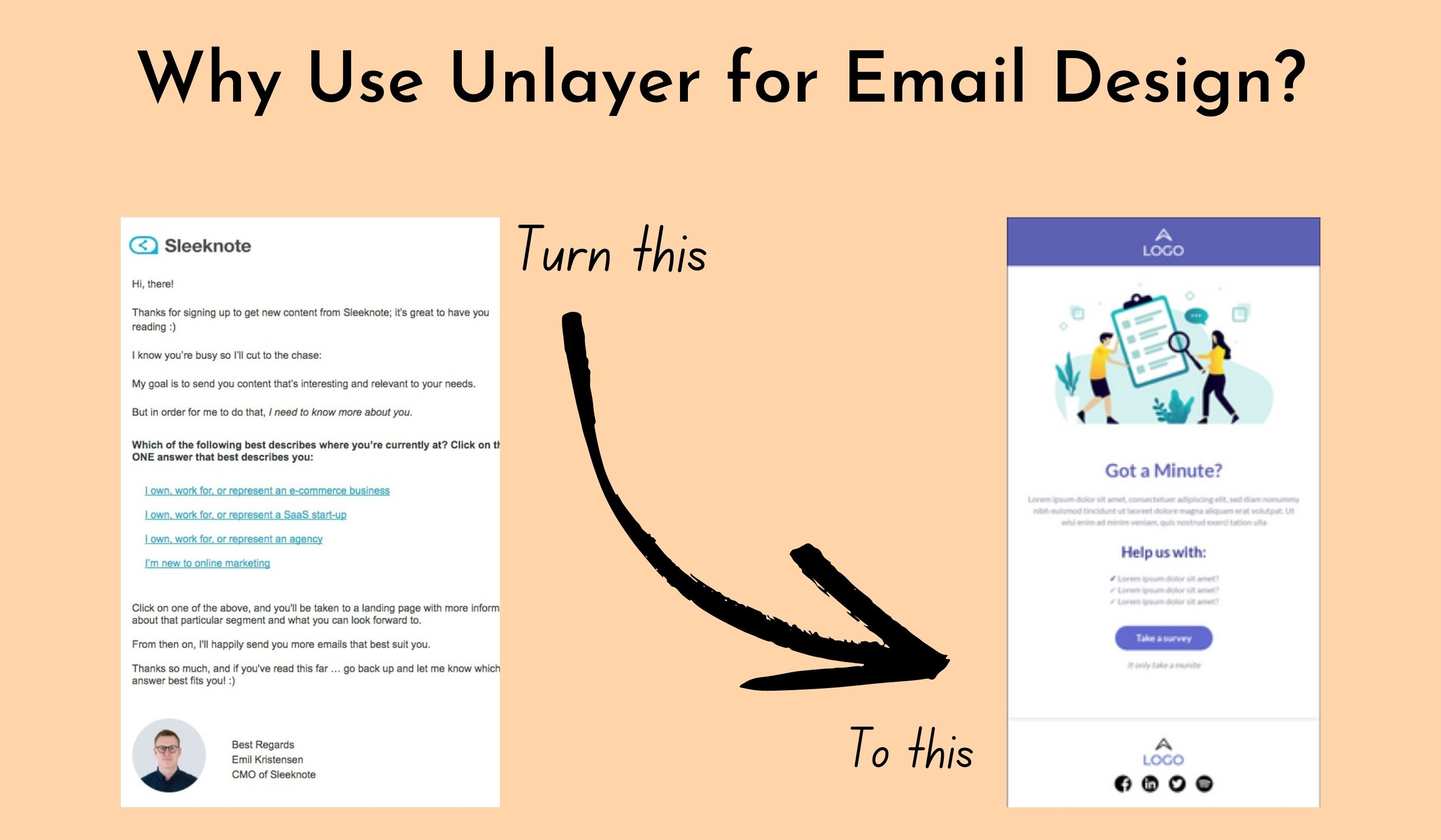 Why Use Unlayer for email design?