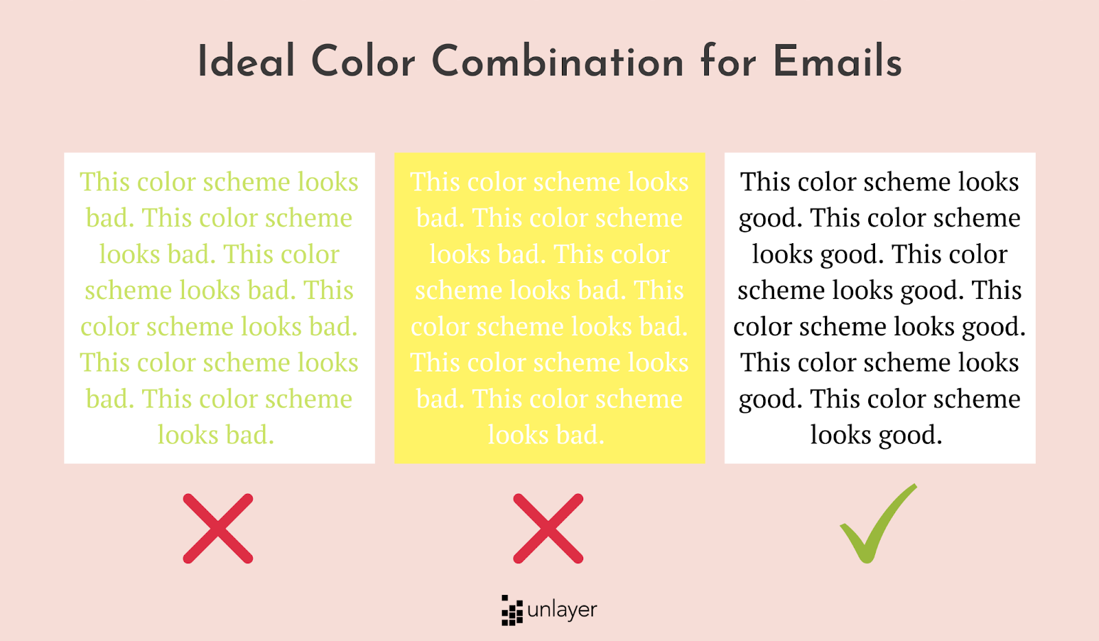 Colors in email design best practice