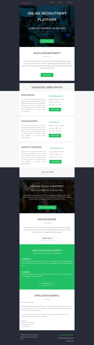 Online Recruitment Platform