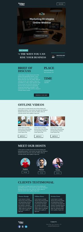 Marketing Strategies Webinar