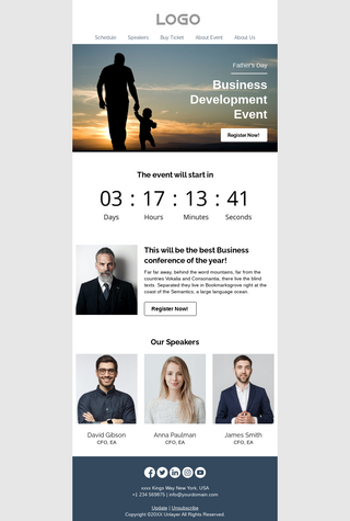 Father's Day Business Development Event