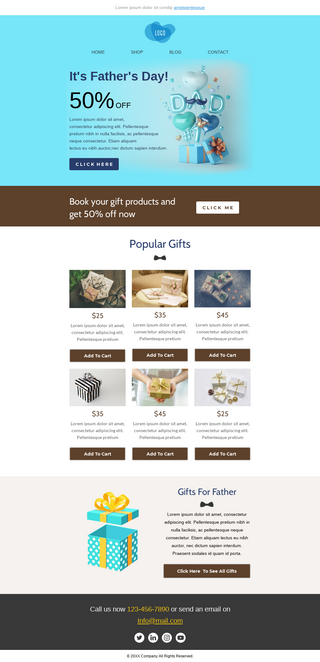 Father's Day Gifts Sale