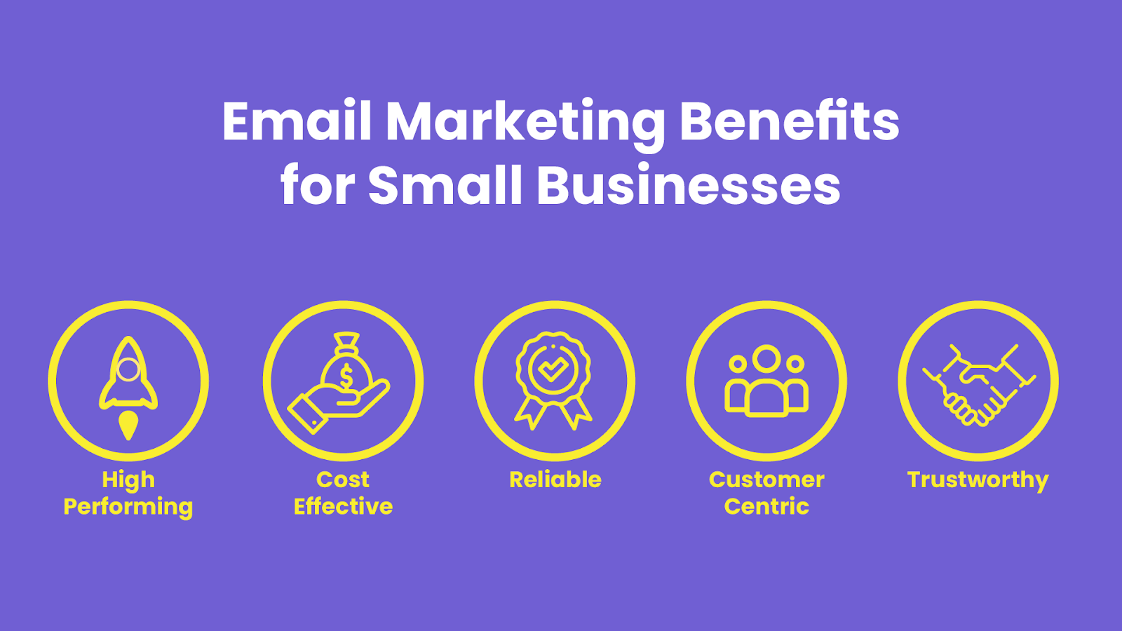 The different benefits of email marketing for small businesses