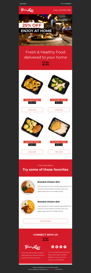 Restaurant Discount Promotion