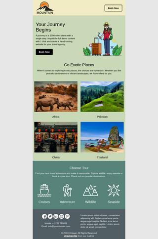 Travel & Tourism Advance Booking