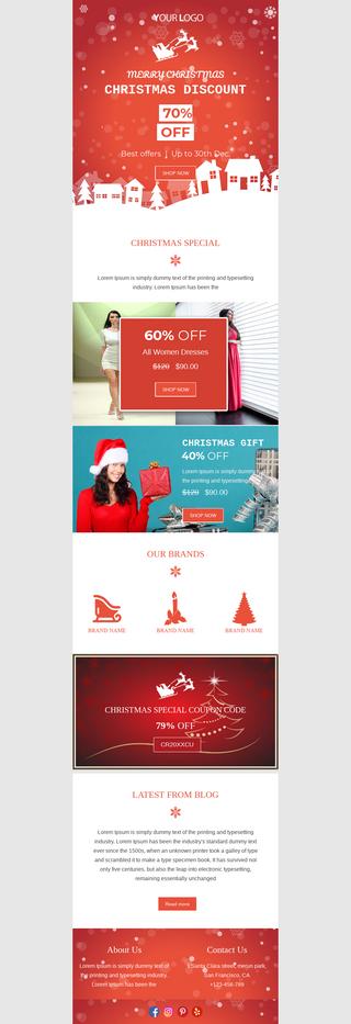 Christmas Discount Coupon