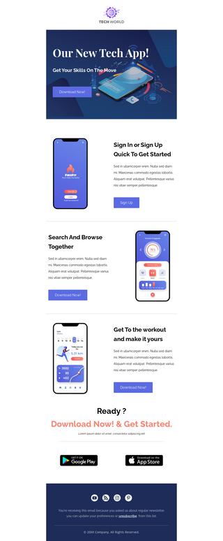 Tech App Launch Promotion