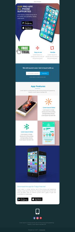 Pro App Launch