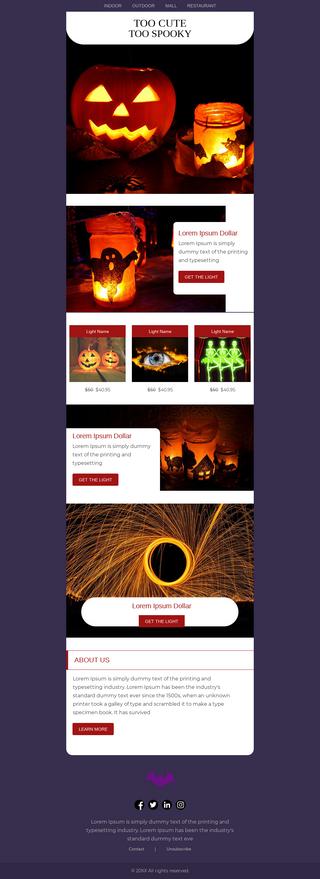 Halloween Lights Discount