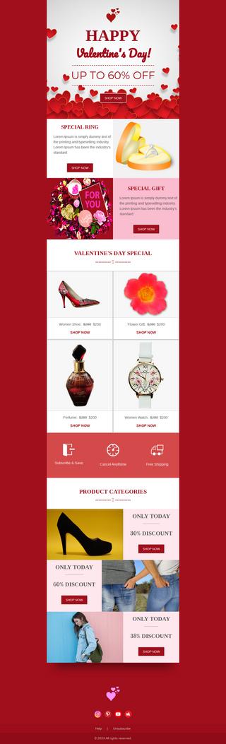 Valentine Day Fashion Sale