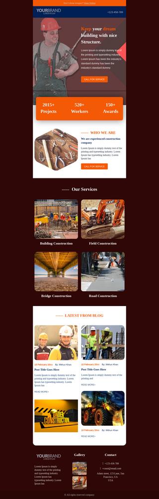 Construction Company Promotion