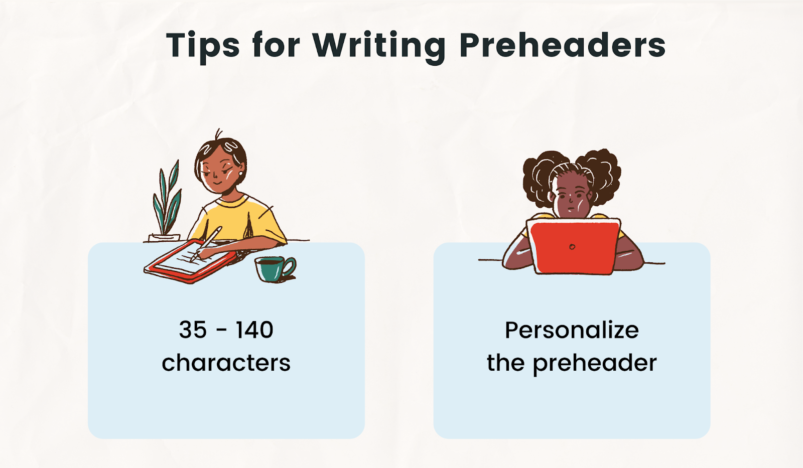 2 best practices for writing preheader text