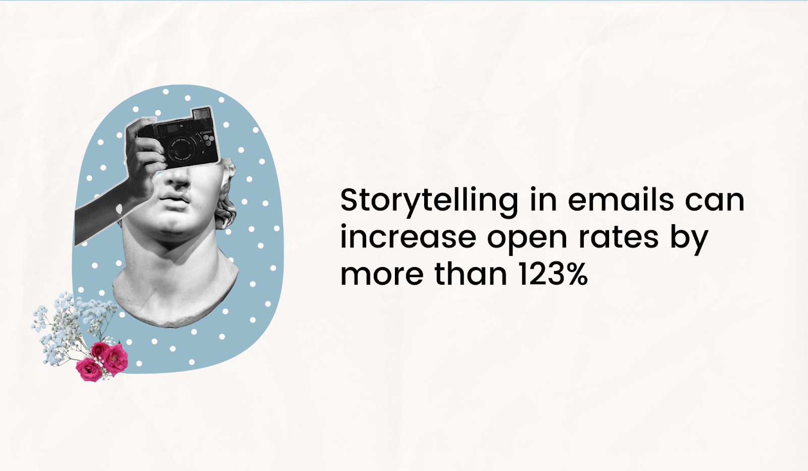 Storytelling in email copy can greatly increase opens