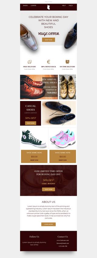 Boxing Day Footwear Sale
