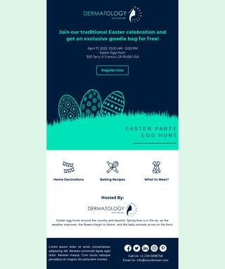 Easter Celebration Announcement