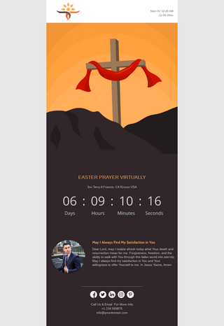 Easter Prayer Announcement