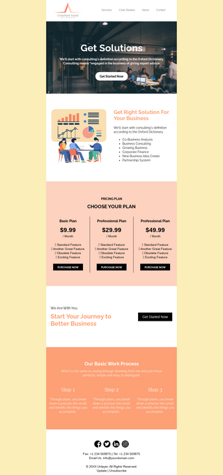 Business Consulting Newsletter