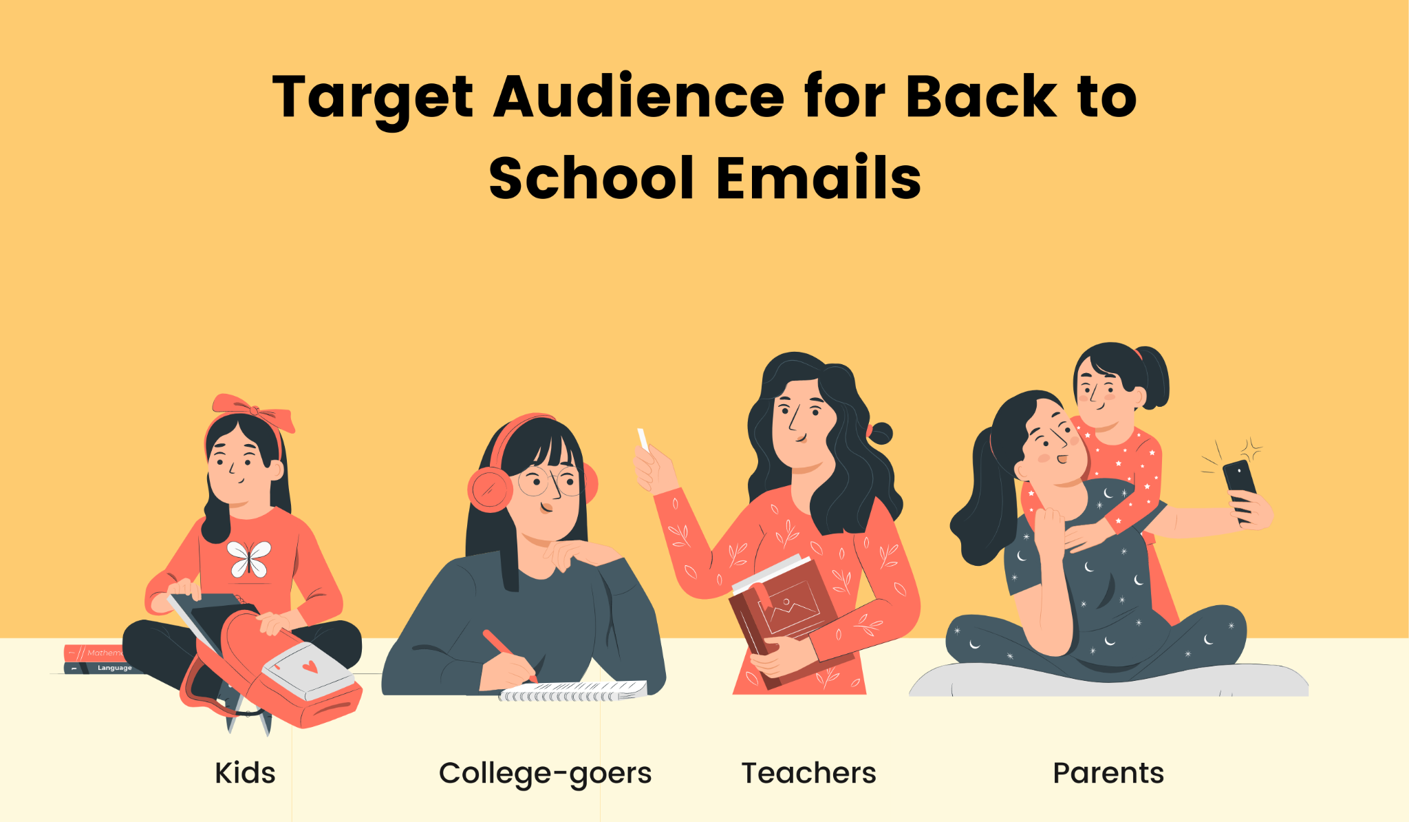 4 segments to send back to school emails
