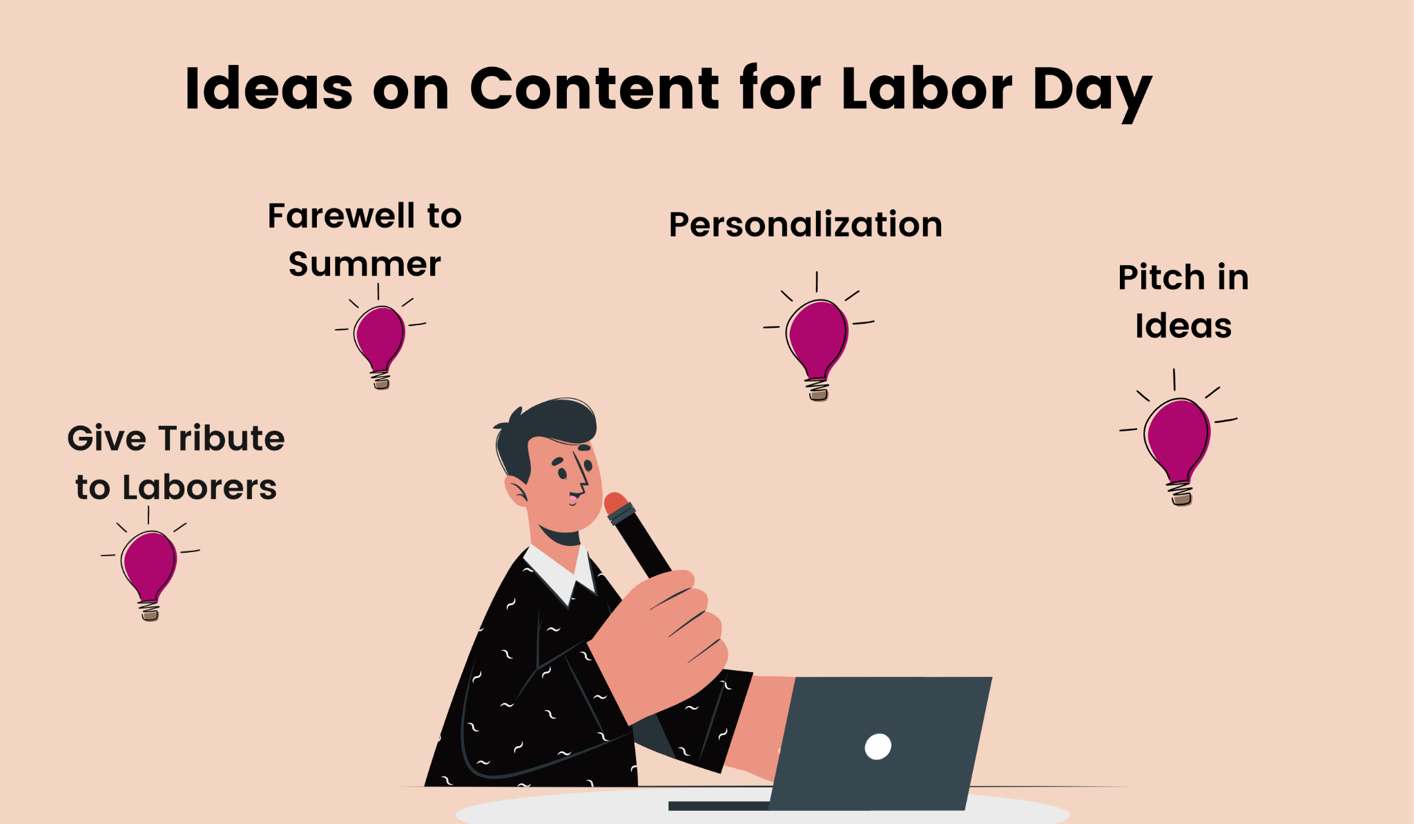 4 content ideas for Labor Day emails