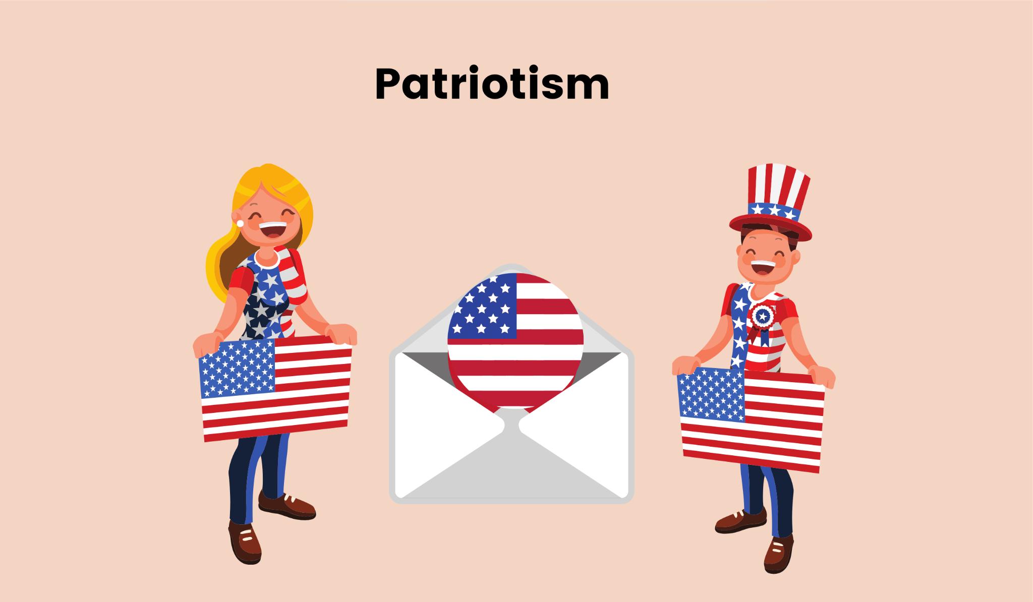 Show patriotism in Labor Day email design