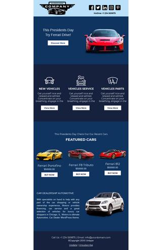 Presidents' Day Sale Car Dealerships