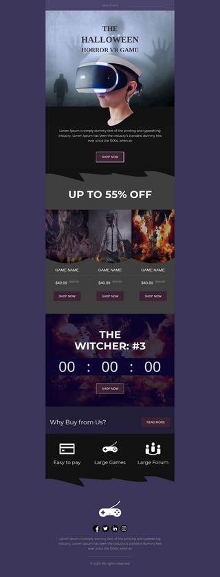 Halloween Horror VR Games Sale