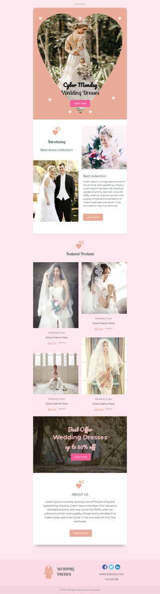 Cyber Monday Wedding Dresses Sale
